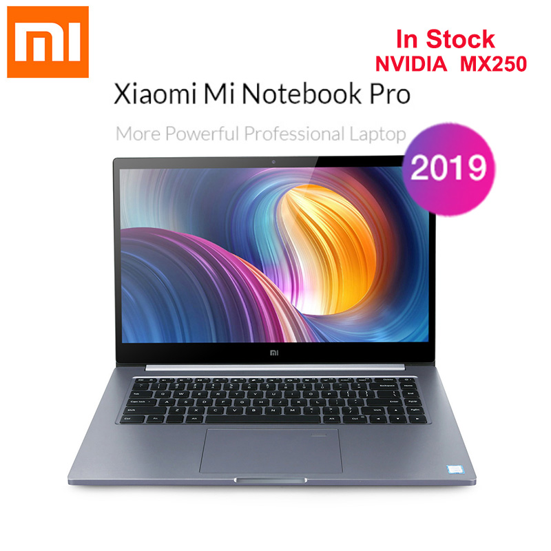 2019 Xiaomi Mi Notebook Pro 15.6'' Windows 10 Home Version Intel Core I5-8250U Quad Core 8GB+512GB Front Cam Fingerprint Laptop