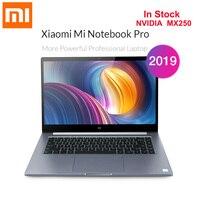2019 Xiaomi Mi Notebook Pro 15.6'' Windows 10 Home Version Intel Core I5 8250U Quad Core 8GB+512GB Front Cam Fingerprint Laptop