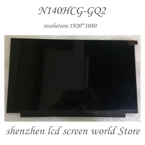 N140HCG-GQ2 Laptop LCD 14.0 slim 30pin 72% NTSC 262K screen N140HCG GQ2 1920*1080 30pins(China)