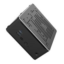 TOPTON 10th Gen Mini bilgisayar Intel Core i9 10980HK 10880H 2xDDR4 64GB 2xM.2 NVMe 2xLans oyun masaüstü bilgisayar Windows 10 4K HDMI DP