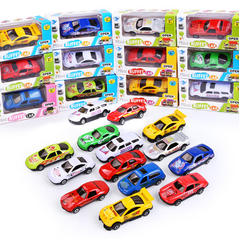 1:87 Scale Model Car Toy Children's Toy Metal Alloy Toy Gift Color And Style Random Alloy Casting Alloy Car Birthday Gift Boy image