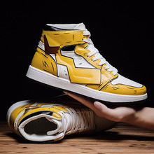 Pikachu Joint Air Force One AJ1 MEN'S Shoes Online Celebrity Hight-top