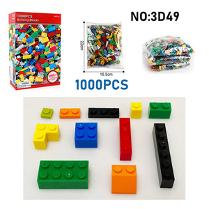 Image 5 - 1000PCS DIY Building Blocks Figures Educational Creative Compatible With brands bricks Toys for Children Kids Birthday Gift