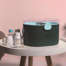 1 шт Пластик медицинский ящик для инструментов белого и зеленого