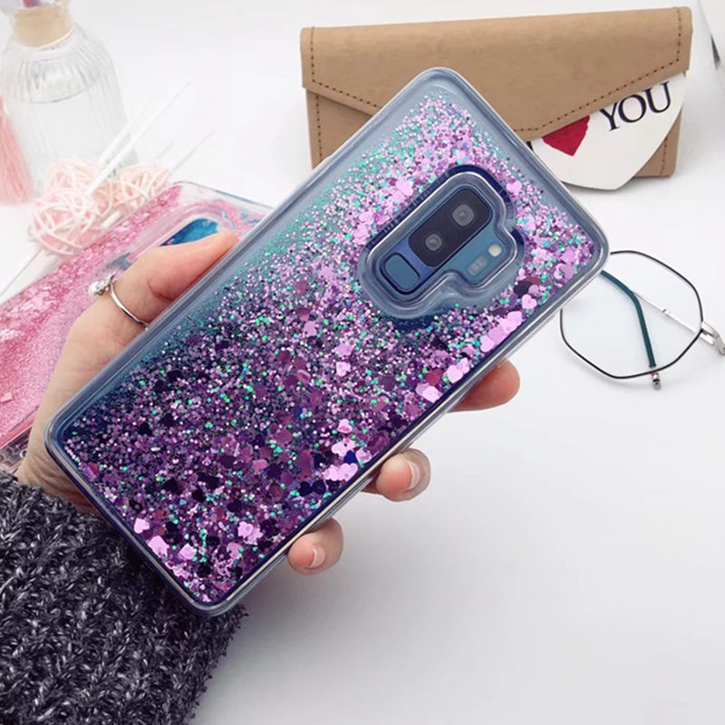 Liquid Quicksand Case For <font><b>Samsung</b></font> <font><b>Galaxy</b></font> S8 S9 S10 plus A50 A70 A20 E A30 A40 note <font><b>9</b></font> 10 8 A7 A8 2018 S7 edge A10 <font><b>S</b></font> M30 TPU Cover image