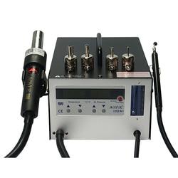 Stacja lutownicza na gorące powietrze Hotsale AOYUE 852A + zastosowanie w laboratorium i każdym warsztacie w Stacje lutownicze od Narzędzia na