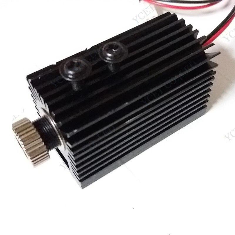1000mW 405nm Blueviolet Light Laser Head laser Module Engraver Accessory for CNC