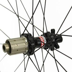Image 4 - 29er Mtb Disc Wheels 28x24mm Tubeless NOVATEC D411SB/D412SB Ultralight Carbon Mtb Wheels 1330g±30g Bike Disc Wheelset 1423 Spoke