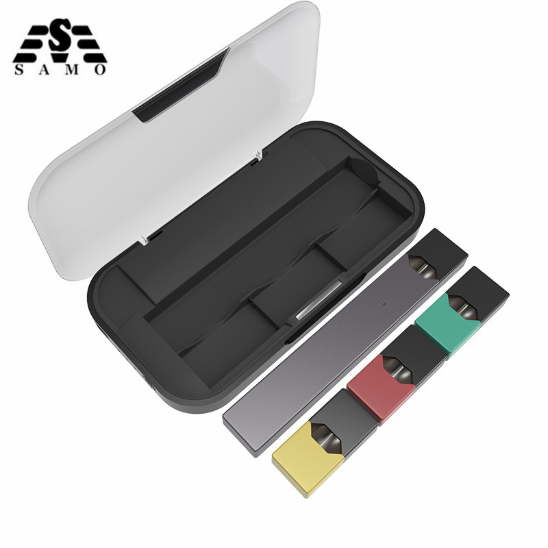 NEW Mobile Charging Pods Case Holder Box For JUUL Electronic Cigarette Charger Pods Case Holder Box Universal Compatible