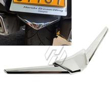 цена на Chrome Motorcycle Rear Fender Tip Fairing Trim Case for Honda Goldwing GL1800 GL1833 2018-2020