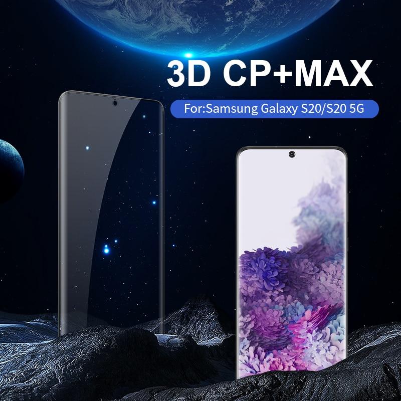 Image 5 - Per Samsung Galaxy S10/S10e/S10 +/S9/S8 +/S20 di Vetro NILLKIN Incredibile 3D CP + MAX Copertura Completa 9H Temperato Protezione Dello Schermo di Vetrotempered glass screen protectorglass screen protectorscreen protector -