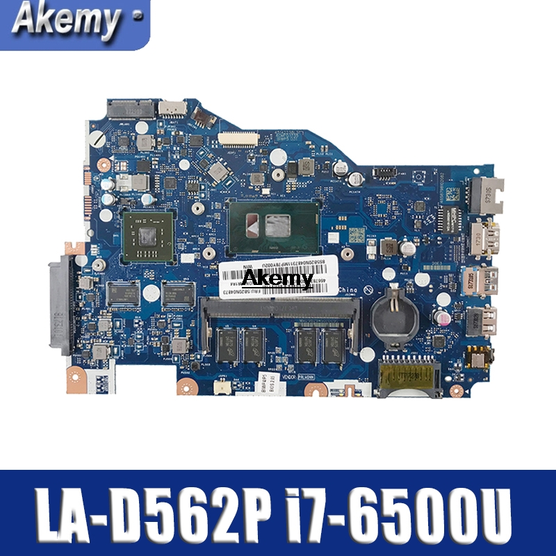 Lenovo 110-15isk LA-D562P Laptop Motherboard I7 6500U Onboard 4G Memory R5 M430 2G 100% Test OK Quality