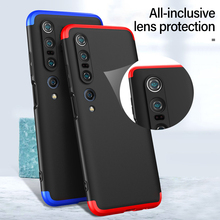 цена на Ultra-thin Colorful Stitching Silicone Phone Case For Xiaomi Mi 10 9 8 T F1 Lite Redmi Note 9 8 7 6 Pro Camera Protection Cover