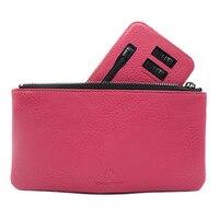 Men's and women's wallets small zipper bank card pocket purse