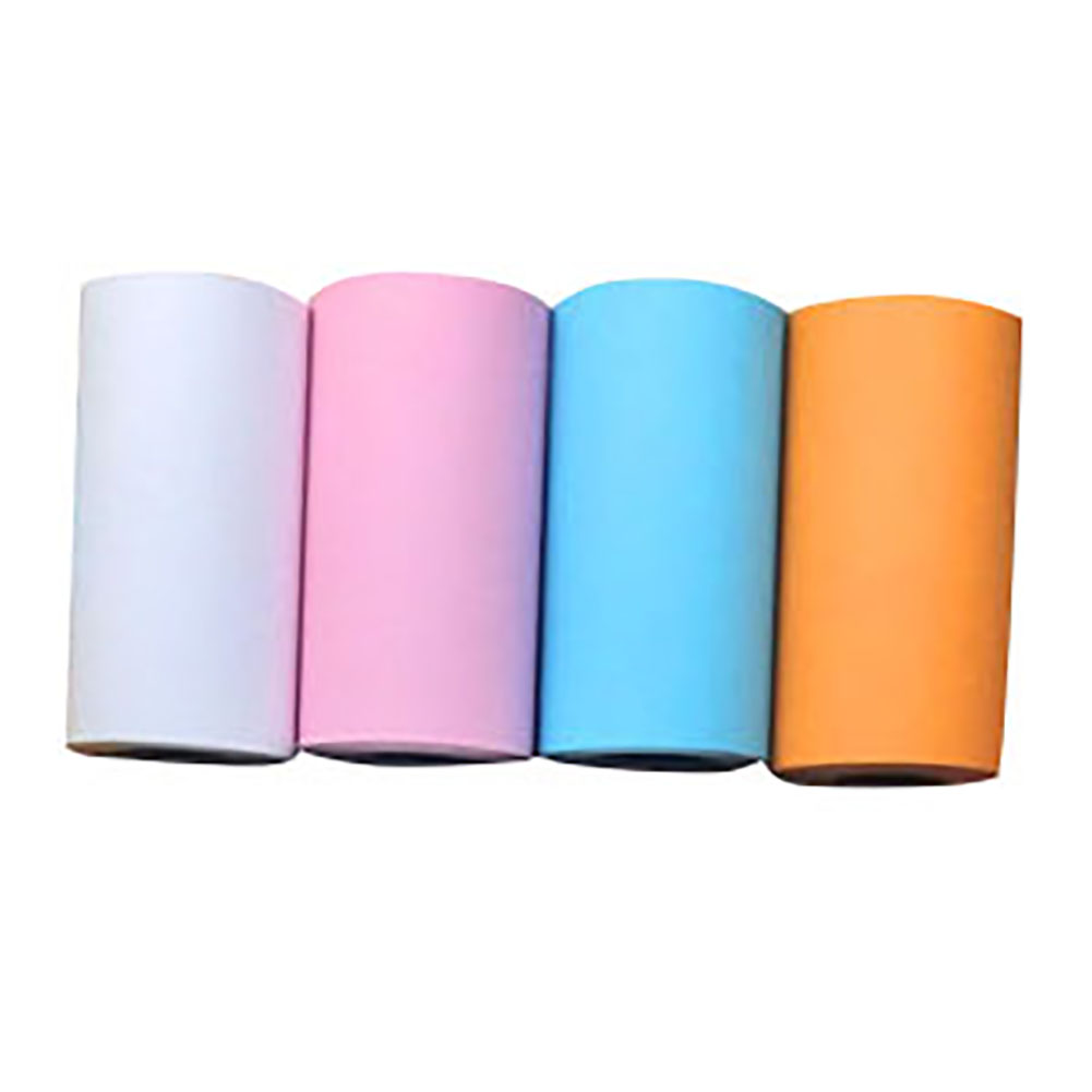 4 Rolls Thermal Paper Roll 57*30mm Clear Printing For Pocket Thermal Printer For Mini Photo Printer Picture Travel Office Items