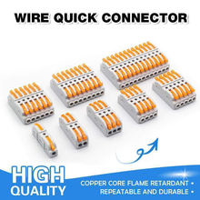 Быстроразъемный соединитель проводов соединительные клеммы кабеля