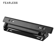 Car modification accessories American carbon fiber license plate frame adjustable