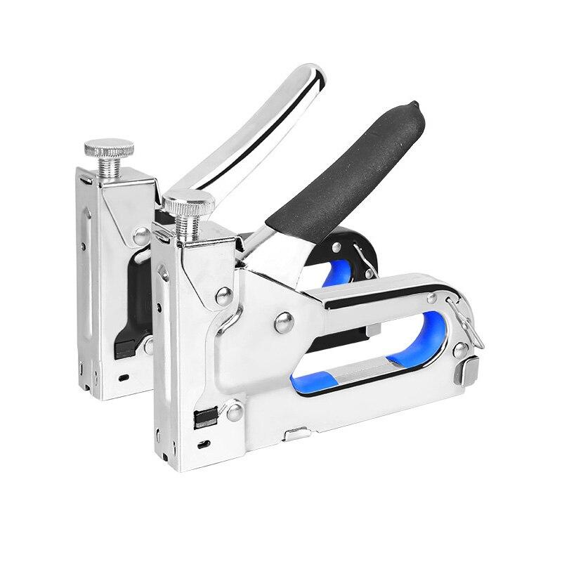Multitool Nail Staple Gun Furniture Stapler For Wood Door Upholstery Framing Rivet Gun Kit Picture Frame Nailers Rivet Tool