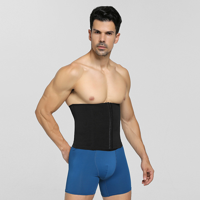Abdominal Band PRAYGER Men  Slimming Waist Girdle Belly Trainer Belt Tummy Trimmer Waist Cinchers 2