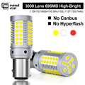 1PCS P21W LED BAU15S BAY15D Canbus Led W21/5W Car Led for Turn Signal light 3030 69SMD with lens lamps T20 7440 7443 Brake light