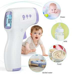 Infrared Thermometer 3 Color Backlight Display Digital Thermometer Laser Non-contact