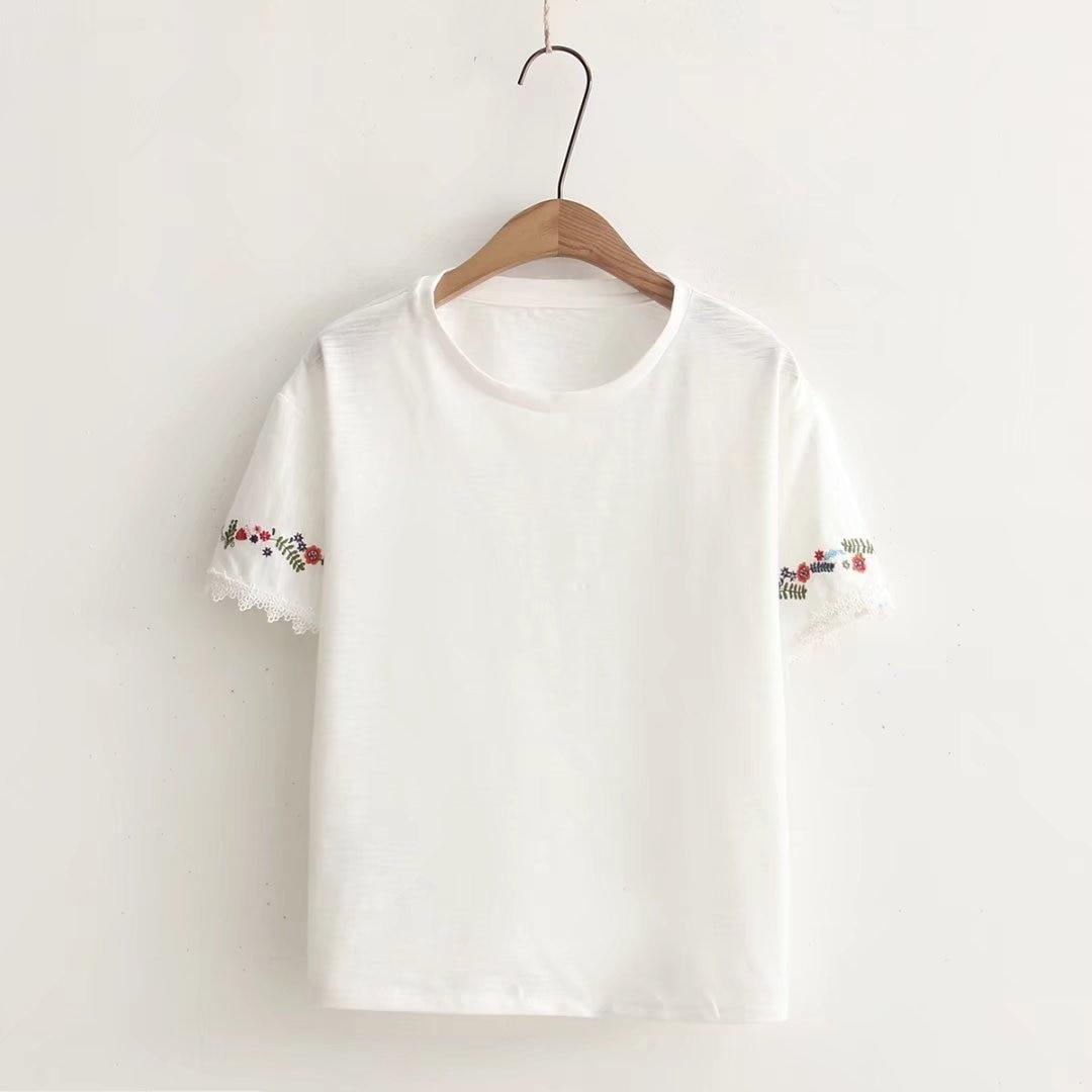 2018 Cotton T-shirt Fashion Style Short Sleeve Funny T Shirts Women O-Neck Tee Shirts Clothing