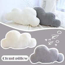 Miękka chmura wypchana zabawka Kawaii aksamitna chmura poduszka pluszowa poduszka Nap poduszka na sofę śliczna zewnętrzna pluszowa poduszka zabawki dla dzieci dorosłych tanie tanio CN (pochodzenie) Plush Toy COTTON 4-6y 7-12y 12 + y Doll Plush Toy Lalka pluszowa nano Miękkie i pluszowe Unisex Animals