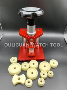 Image 2 - Rodzaj śruby Case ograniczenie maszyny narzędzie wysokiej precyzyjny zegarek prasa do konserwacji zegarmistrza
