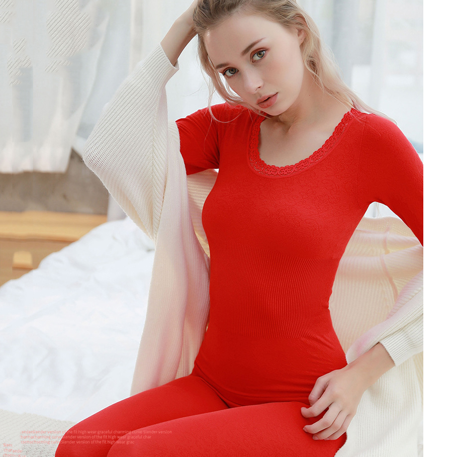 Thermal Underwear set  Woman winter clothing Warm suit Long sleeve top Warm pants winter leggings Thermo underwear undershirt
