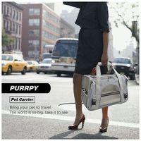 Pet Outdoor Travel Pet Dog Puppy Cat Breathable Carrier Handbag Sling Adjustable Shoulder Bag Pouch F42A