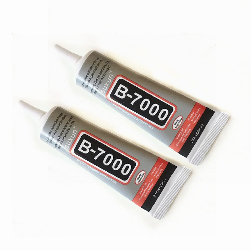 1 Pcs 50ml B-7000 Glue B7000 Multi Purpose Glue Adhesive Epoxy Resin Repair Cell Phone LCD Touch Screen Super Glue B 7000 B7000