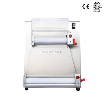 CHEF PROSENTIALS Electric Dough Roller Commercial 18 inch 2 rollers dough sheeter press machine Stainless steel kneader