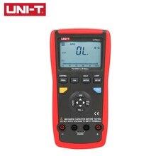 Hot Sale UNI-T UT612 LCR Meters USB Interface Inductance Capacitance DIY Tools Resistance Phase Angle Multimeters Matching измерительный прибор uni t ut612 uni t lcr 100khz usb