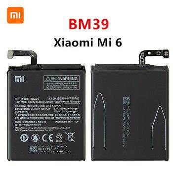 Xiao mi 100% Orginal BM39 3350mAh Battery For Xiaomi 6 Mi 6 Mi6 BM39 High Quality Phone Replacement Batteries high quality for xiao mi bm51 battery 5400mah in stock