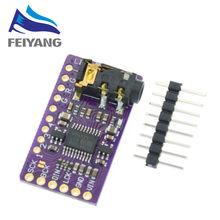 Interfejs I2S GY-PCM5102A moduł dekodera DAC dla formatu Raspberry Pi pHAT dźwięk cyfrowy