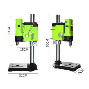 Image 2 - ALLSOME Mini perceuse détabli électrique, mandrin de perceuse de 1050W BG 5157 3 16mm