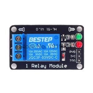 3,3 V 5 V 12 V 24 V триггер низкий уровень 1 канал релейный модуль Интерфейс для PIC AVR DSP ARM MCU Arduino