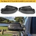 Полностью заменяемые боковые зеркала заднего вида из углеродного волокна крышки для Audi A6 C7 12-16 A6 S6 RS6 13-16 зеркальные Чехлы заднего вида