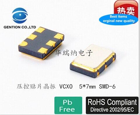 2pcs 100% New And Orginal SMD VCXO 5X7 5070 6-pin 44.736MHZ 44.7360MHZ 3.3v