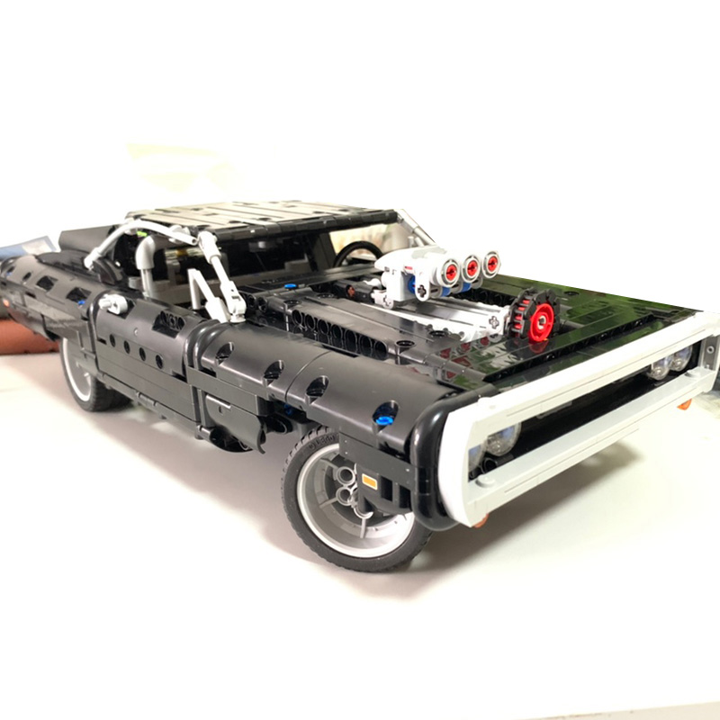 In Stock Dom S Dodged Charger 42111 Supercar Model Lepining Blocks Building Blocks Bricks Toy