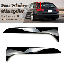 Spoiler-Wing Auto-Accessories Travel-Edition Allroad Avant A4 B8 Car-Styling Audi Rear