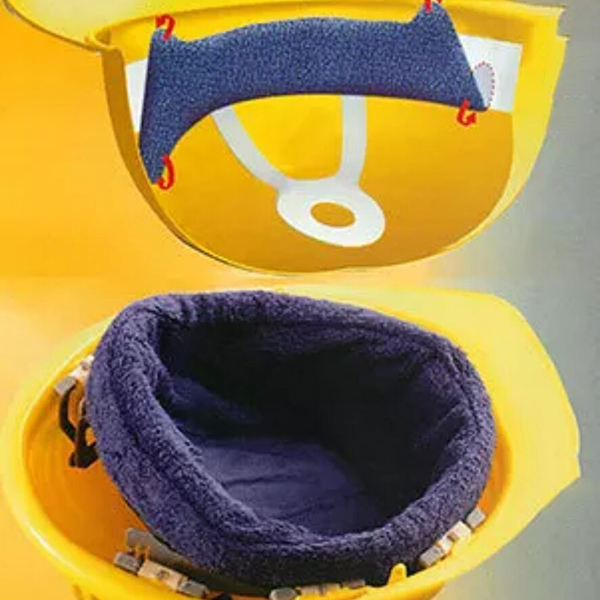 Snap-On Hard Hat Sweatband Sport Headband Sweat Band Absorbent Sweat Headscarf for Outdoor Work Sports FEA889