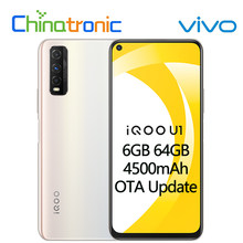Original VIVO iQOO U1 6G 64G Android 10 Handy Snapdragon 720G Octa Core 4500mAh Batterie 18W Schnelle Ladung 6.53