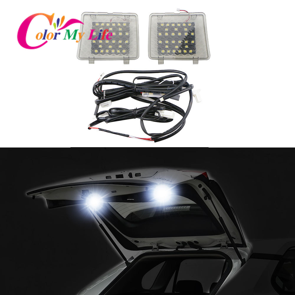 Color My Life LED Car Tail Light Trunk Light Tailgate Lamp Suitcase Lights for Toyota RAV4 RAV 4 5th 2019 2020 Accessories