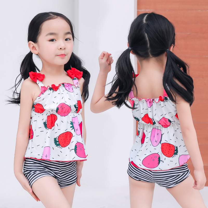 Girl'S Swimsuit Split Type-Baby AussieBum Tour Bathing Suit Manufacturers Wholesale Swimwear CHILDREN'S Bikini Wholesale