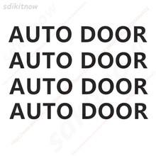4pc automático da porta do carro aviso de cautela decalque carro de negócios auto porta adesivo para bmw ford honda vw skoda assento cruz toyota skoda