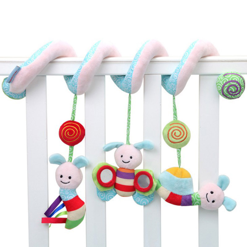 Foreign Trade Export Quality Music Sound Making Bees Insect Bed Around Bed Bell Car Hanging Bed Bell Baby Toys Wholesale