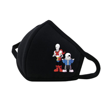 Anime Undertale Mouth Face Mask Dustproof Breathable Facial Protective Cute Unisex Cartoon Cover Cotton