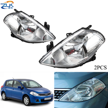 Headlamp VERSA Nissan Tiida Halogen 2006 2005 2007 ZUK for LATIO C11/2005/2006/.. Sub-Assy