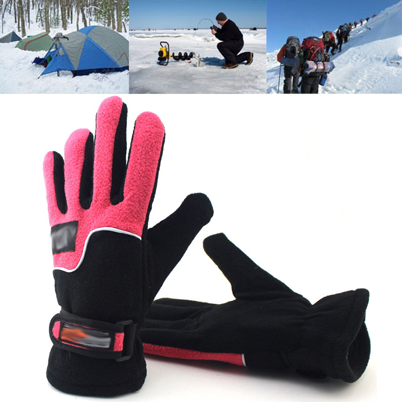 Man  Winter Thermal Warm Cycling Bicycle Bike Ski Outdoor Camping Hiking Motorcycle Gloves Sports Full Finger